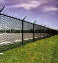 Commercial Chain Link Fence Installation in Ajax, Oshawa, Pickering, Whitby, Toronto, GTA