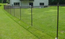 Residential Chain Link Fence Installation in Ajax, Oshawa, Pickering, Whitby, Toronto, GTA