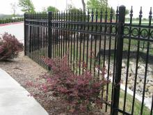 Residential Ornamental Fence Installation in Ajax, Oshawa, Pickering, Whitby, Toronto, GTA