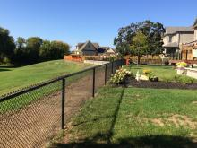 Commercial Chain Link Fencing Installation in Ajax, Oshawa, Pickering, Whitby, Toronto, GTA