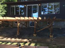 Residential Wooden Deck Installation in Ajax, Oshawa, Pickering, Whitby, Toronto, GTA