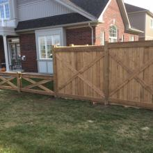 Commercial Fencing Installation in Ajax, Oshawa, Pickering, Whitby, Toronto, GTA