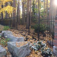 Residential Metal Fencing Installation in Ajax, Oshawa, Pickering, Whitby, Toronto, GTA